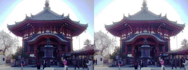 興福寺 南円堂(平行法)