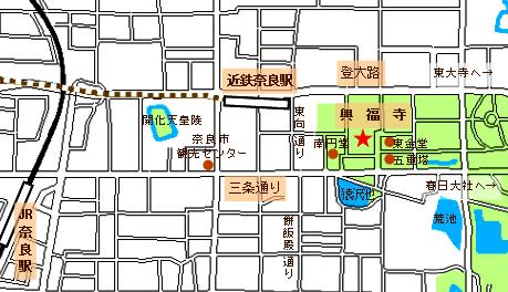 興福寺map