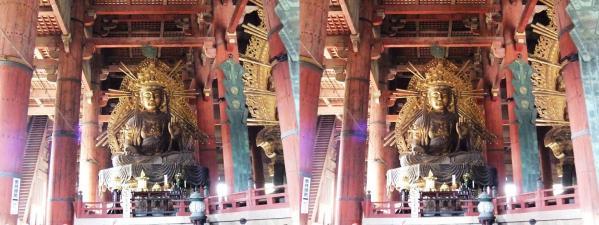 東大寺大仏殿『金堂』虚空蔵菩薩像(交差法)