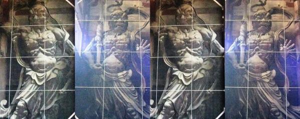 東大寺南大門金剛力士立像(交差法)