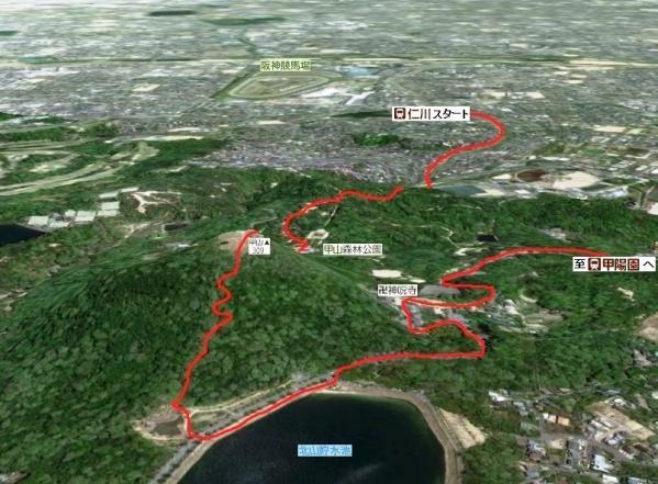 甲山ハイキングコース
