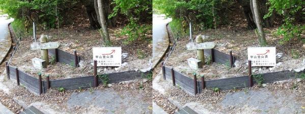 甲山ハイキングコース⑪(平行法)