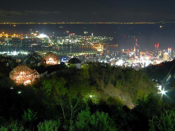 神戸布引ハーブ園からの夜景