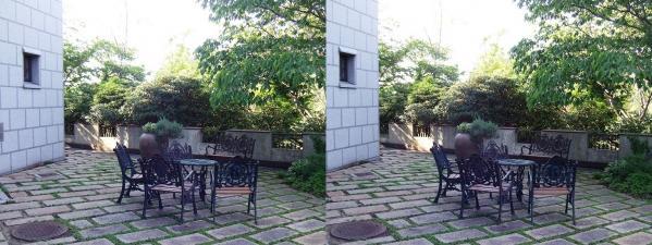 ハーブ園展望プラザ③(交差法)