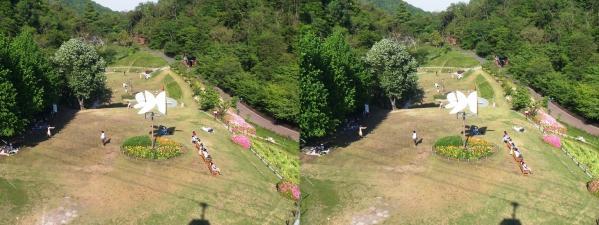風の丘芝生公園(平行法)