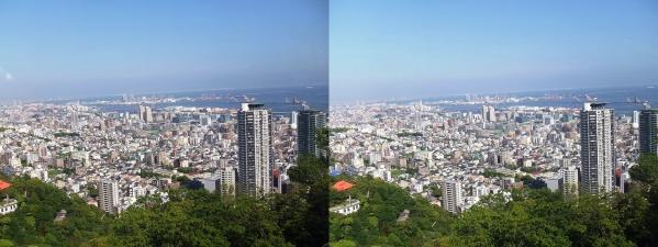 神戸市街②(平行法)