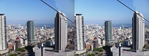 神戸市街①(平行法)