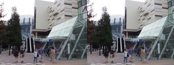 イオンモール大阪ドームシティ(平行法)
