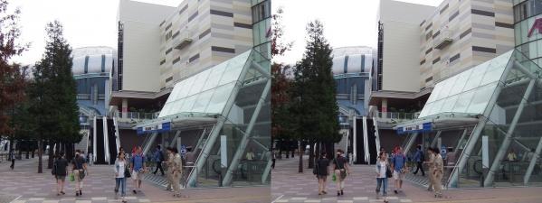 イオンモール大阪ドームシティ(交差法)