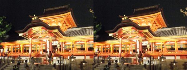 石清水八幡宮④(交差法)