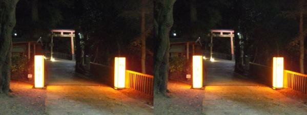 石清水八幡宮①(平行法)