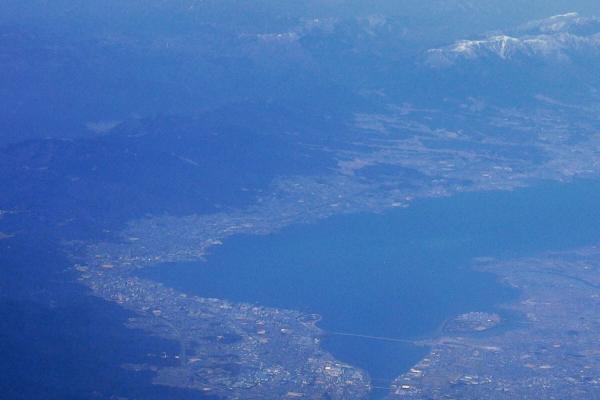 比叡山・琵琶湖 空撮