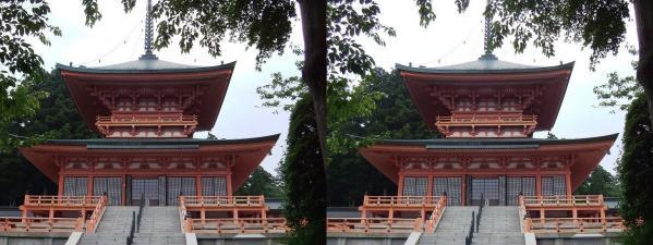 延暦寺 法華総持院 東堂(平行法)