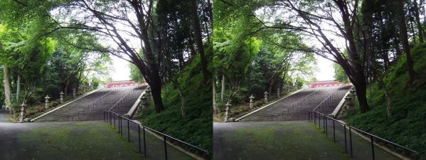 延暦寺 法華総持院①(交差法)