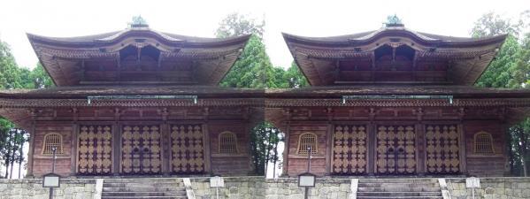 延暦寺 東塔 戒壇院(交差法)