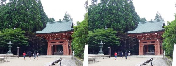 延暦寺 東塔 鐘楼(平行法)