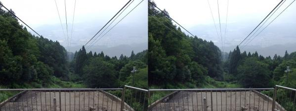 叡山ロープウェイ②(平行法)