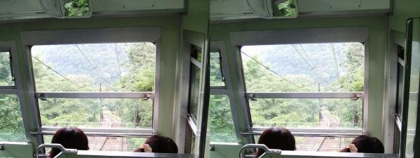 叡山ケーブル①(平行法)