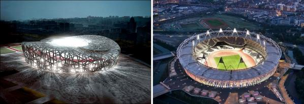 Beijing London Olympic Stadium