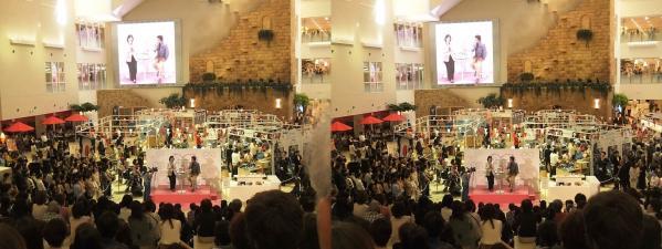 阪急百貨店9Fアートステージ 片岡愛之助②(交差法)