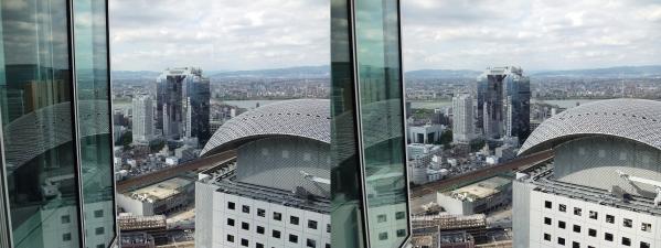 ブリーゼタワー33F展望スペース眺望⑤(平行法)