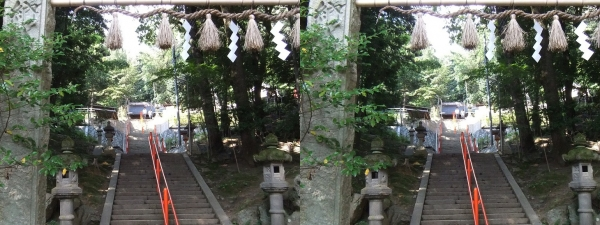 売布神社②(平行法)