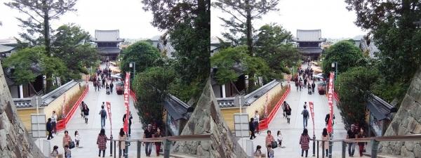 中山寺⑬(交差法)