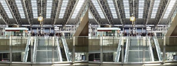 JR大阪駅⑤(平行法)