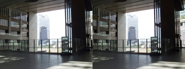 JR大阪駅③(交差法)