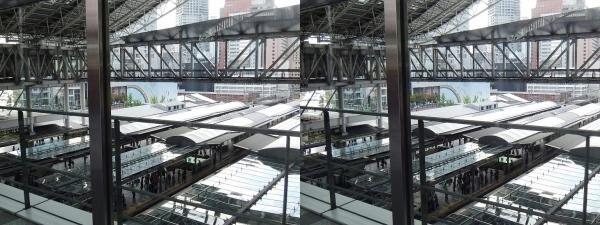 JR大阪駅②(平行法)