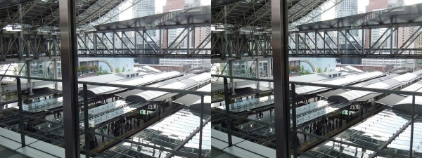 JR大阪駅②(交差法)