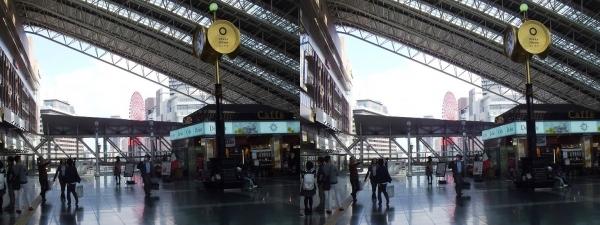 JR大阪駅①(平行法)