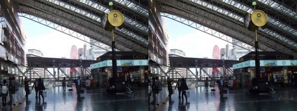 JR大阪駅①(交差法)