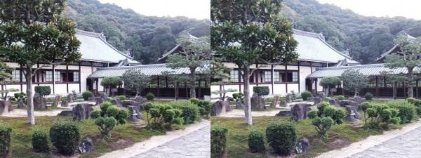 興聖寺庭園①(平行法)