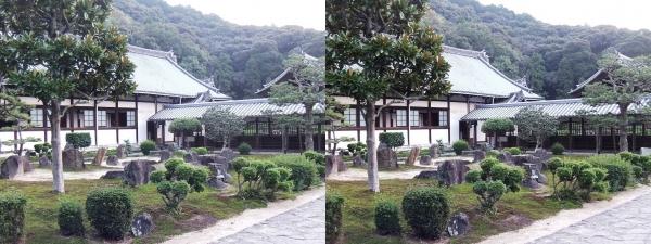 興聖寺庭園①(交差法)