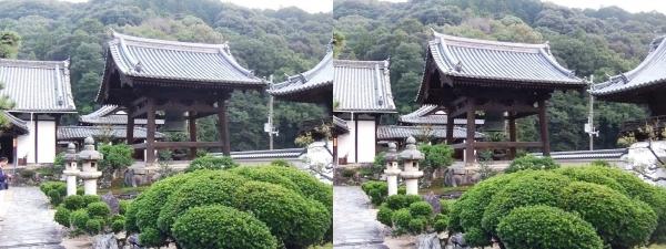 興聖寺鐘楼(交差法)