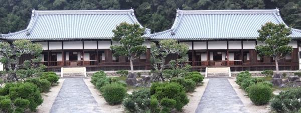 興聖寺本堂(交差法)