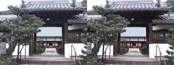 興聖寺薬医門②(交差法)