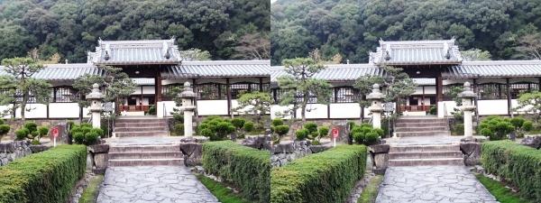 興聖寺薬医門①(平行法)