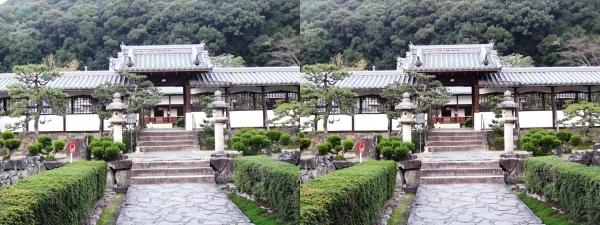 興聖寺薬医門①(交差法)
