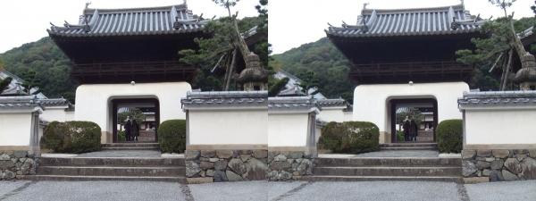興聖寺楼門①(平行法)