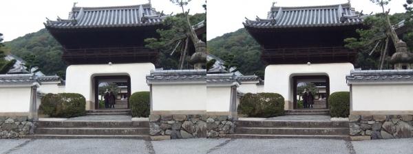 興聖寺楼門①(交差法)
