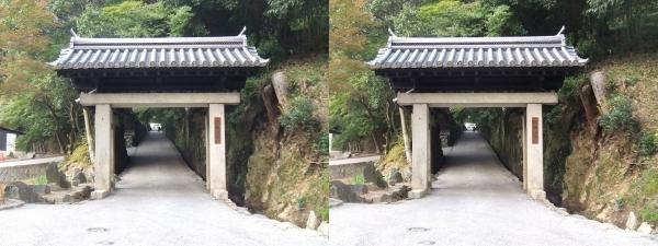興聖寺表門(交差法)