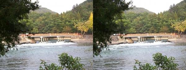 観流橋(平行法)