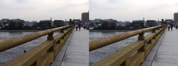 宇治橋①(平行法)