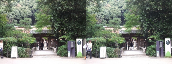 宇治上神社②(平行法)