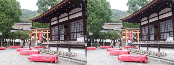 宇治神社②(平行法)