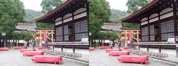 宇治神社②(交差法)