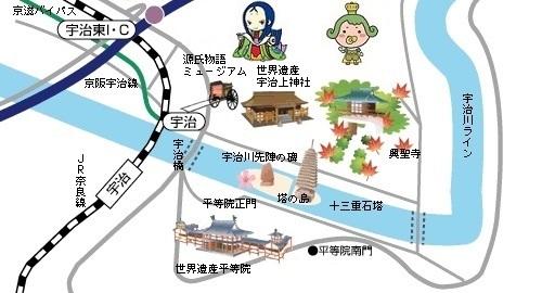 宇治map