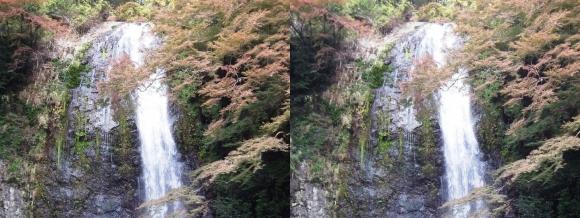 箕面大滝③(平行法)